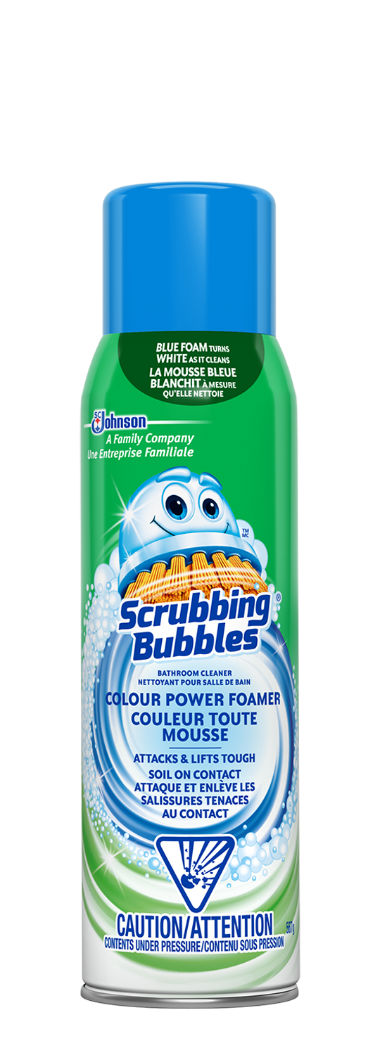 Scrubbing Bubbles Foamer Colour Power