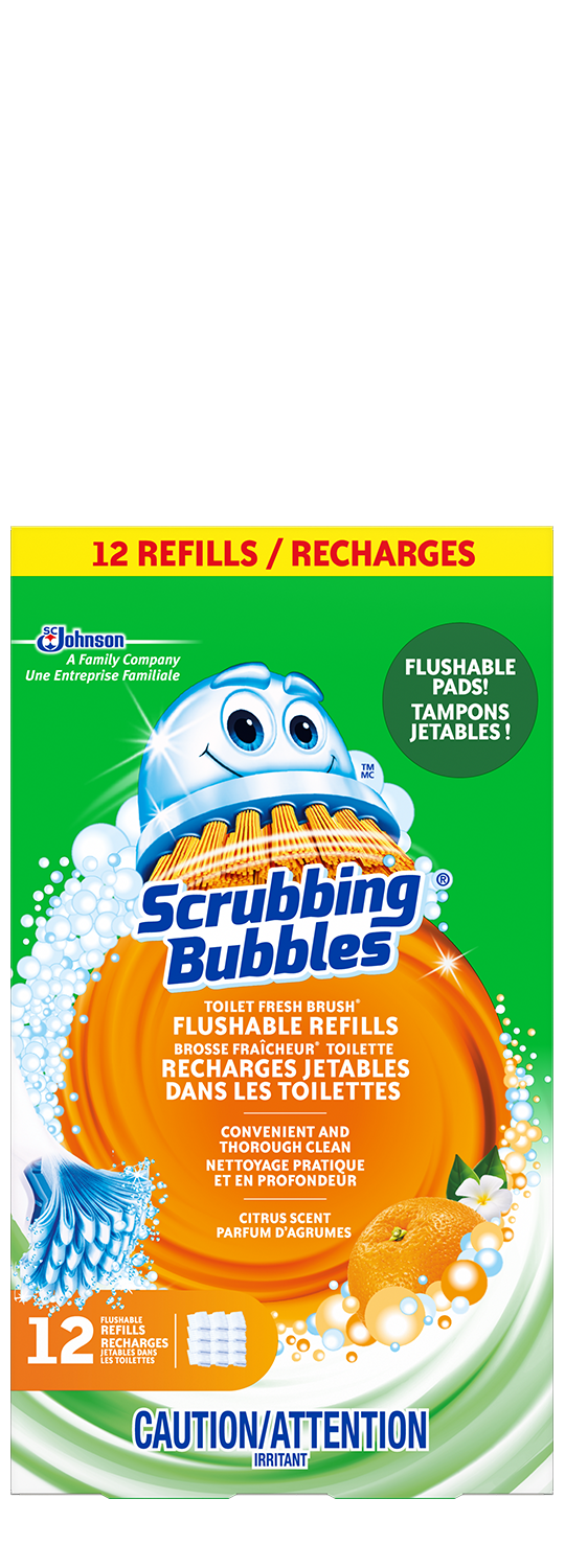 Scrubbing Bubbles Fresh Brush Flushable Refill