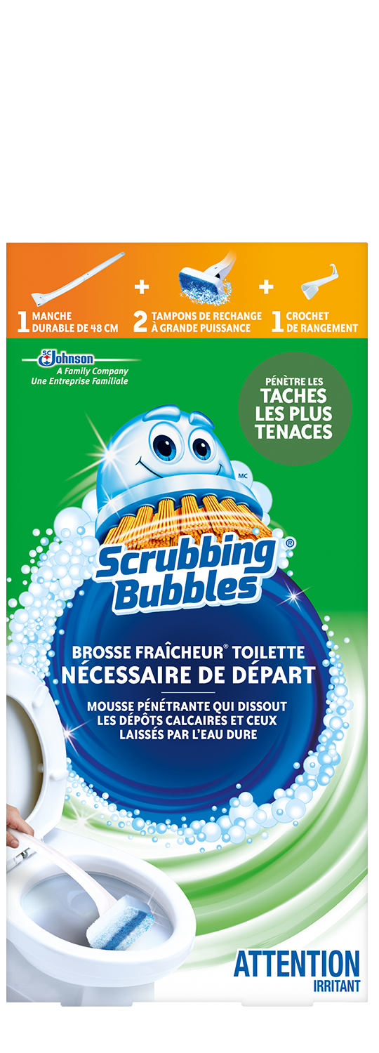 Scrubbing Bubbles Fresh Brush Starter French