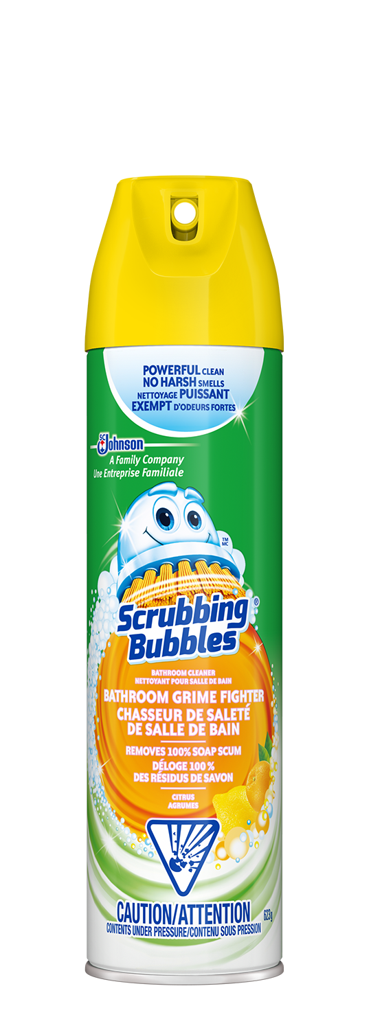 Bathroom Grime Fighter Aerosol Scrubbing Bubbles 174 Products