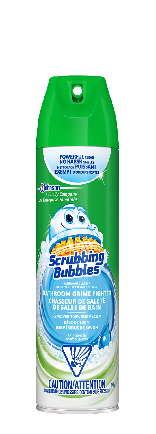 Scrubbing Bubbles Grime Fighter Trigger Aerosol Rainshower
